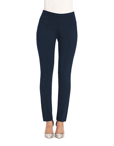 Nic+Zoe PETITE Perfect Ponte Pants-BLUE-Medium 88787417_BLUE_Medium