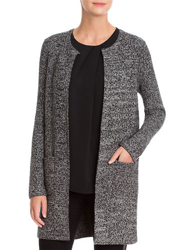 Nic+Zoe Intermission Open-Front Jacket-GREY-Large 88809067_GREY_Large
