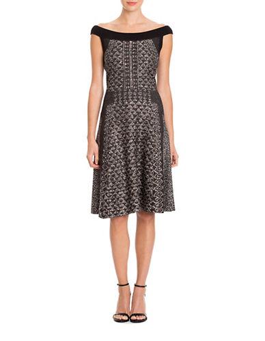 Nic+Zoe Plus Whimsical Twirl Dress-MULTI-COLOURED-1X