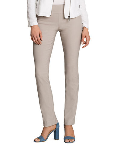 Nic+Zoe Wonderstretch Foundation Pants-GREY-4