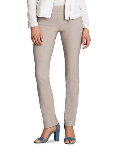Nic+Zoe Plus Wonderstretch Pants-GREY-24W