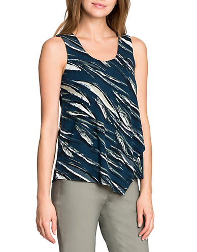 Nic+Zoe Tiger Lily Top-MULTI-X-Large