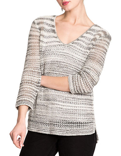 Nic+Zoe New Dawn Sweater-MULTI-Small