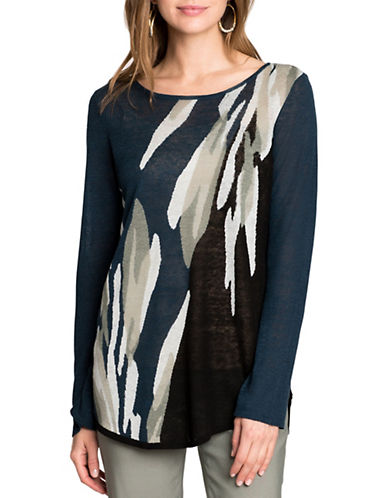 Nic+Zoe Wild Thyme Top-MULTI-Large