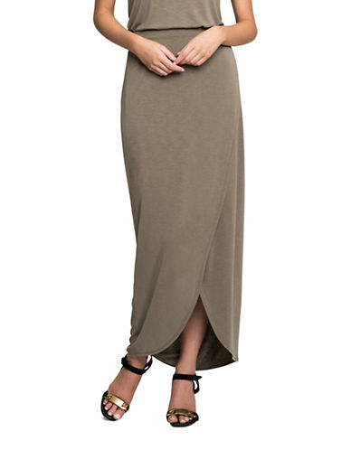 Nic+Zoe Boardwalk Skirt-GREEN-Medium