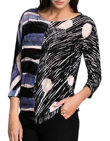 Nic+Zoe Sierra Top-MULTI-X-Large