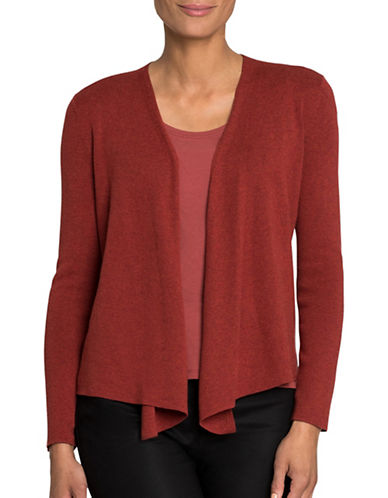 Nic+Zoe Four-Way Cardigan-RED-Large