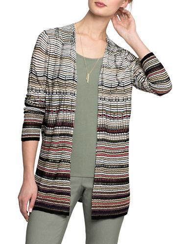 Nic+Zoe PETITE Colourscale Cardy Vest-MULTI-Petite X-Small