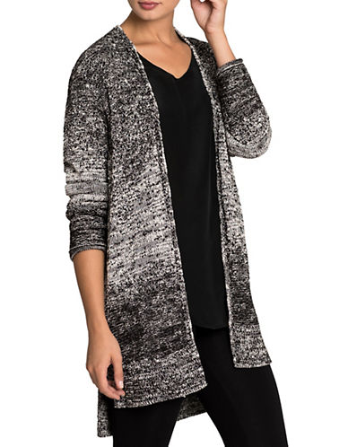 Nic+Zoe PETITE Embroidered Smokey Cardigan-MULTI-Petite Small