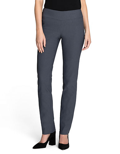 Nic+Zoe PETITE Wonderstretch Pants-BLUE-2P