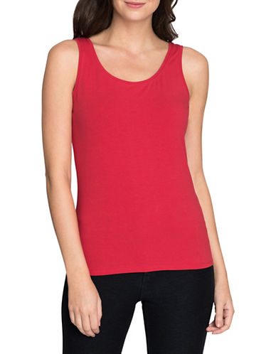 Nic+Zoe Perfect Tank Top-TRUE RED-Large