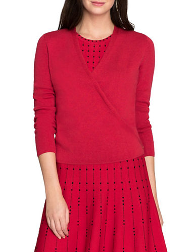 Nic+Zoe Four-Way Cardigan-RED-Small