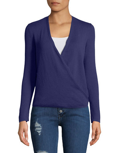 Nic+Zoe Four-Way Cardigan-BLUE-Medium