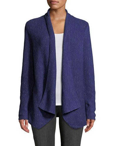 Nic+Zoe Pixel Pop Cardigan-BLUE-Large