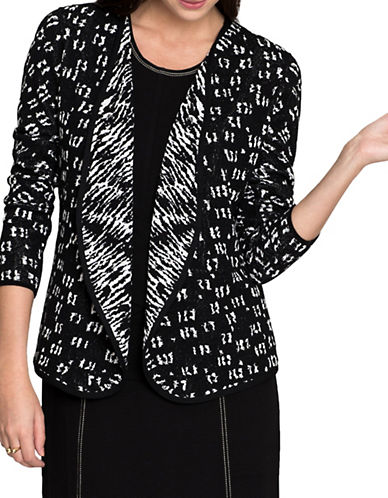 Nic+Zoe Night Sky Cardigan-MULTI-Large
