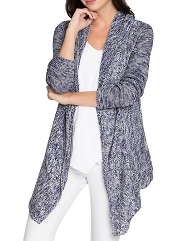 Nic+Zoe Weather Mix Cardigan-MULTI-Medium