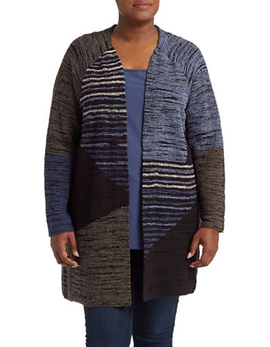Nic+Zoe Plus Plus Layover Cardigan-ASSORTED-1X