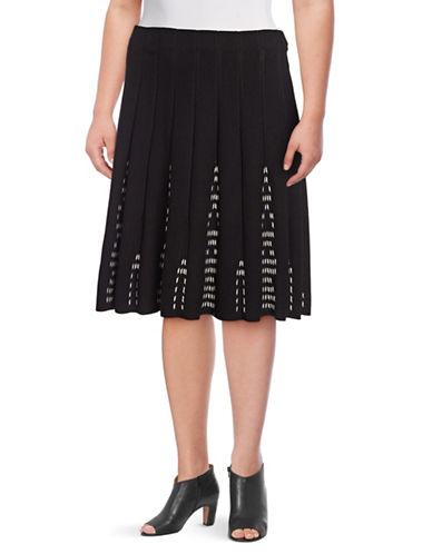 Nic+Zoe Plus Hypnotic Twirl Skirt-ASSORTED-3X