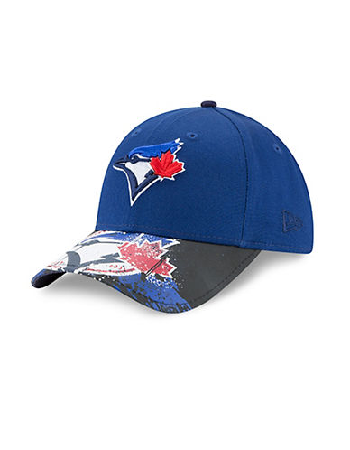 New Era Toronto Blue Jays Youth Splatter Vize 9FORTY Cap-BLUE-One Size