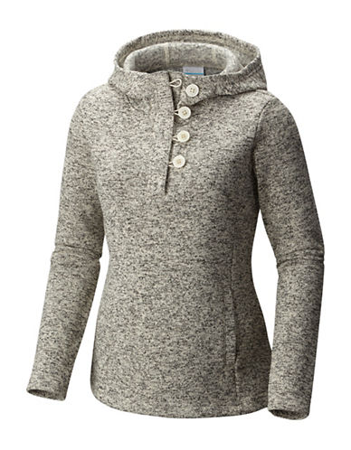 Columbia Darling Days Fleece Pullover Hoodie-CHALK HEAT-X-Small