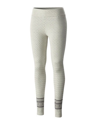 Columbia Hood Mountain Lodge Leggings-WHITE-X-Large
