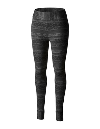 Columbia Hood Mountain Lodge Leggings-BLACK-X-Small