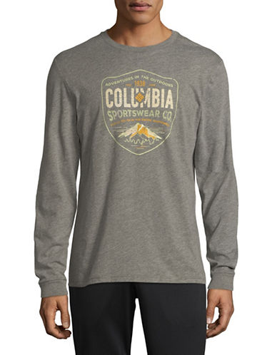 Columbia Rugged Shield Long Sleeve Sweater-GREY-Large 89748202_GREY_Large