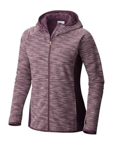 Columbia Optic Got It Hooded Jacket-PURPLE-Large