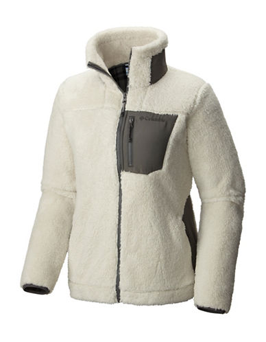 Columbia Panorama Ridge Fleece Jacket-GREY-Medium