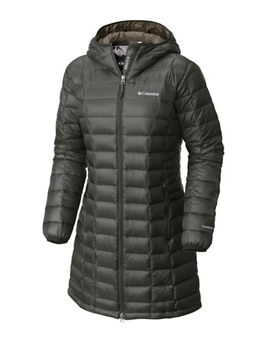 Columbia Voodoo Falls 590 TurboDown Mid Jacket-GRAVEL-X-Large