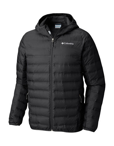 Columbia Lake 22 Down Hooded Jacket-BLACK-Large