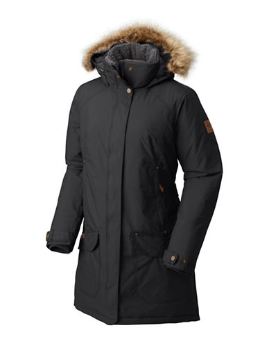 Columbia Icelandite Turbodown Parka-BLACK-Large