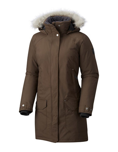 Columbia Icelandite Turbodown Parka-BROWN-X-Large
