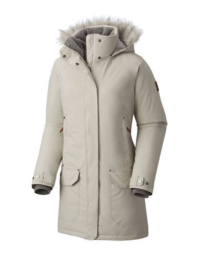 Columbia Icelandite Turbodown Parka-CLOUD-Large
