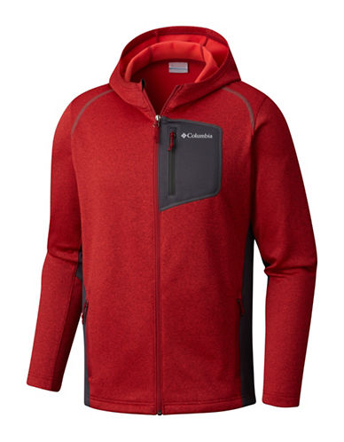 Columbia Jackson Creek Hoodie-RED-Medium