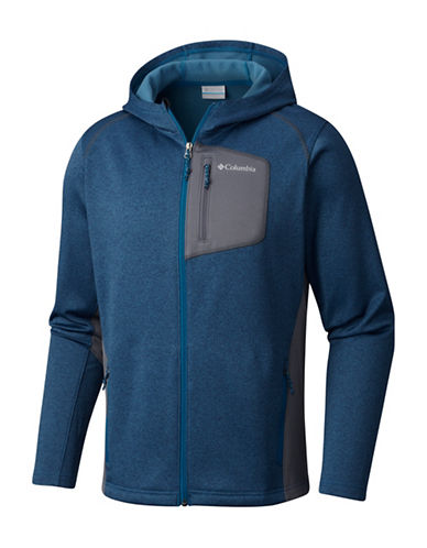 Columbia Jackson Creek Hoodie-BLUE-Large