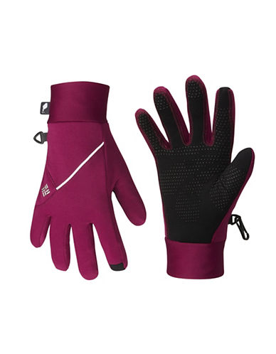 Columbia Trail Summit Gloves-PURPLE-Medium