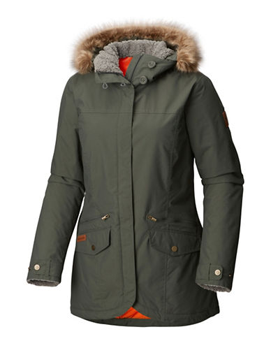 Columbia Grandeur Peak Mid Jacket-GREEN-X-Large