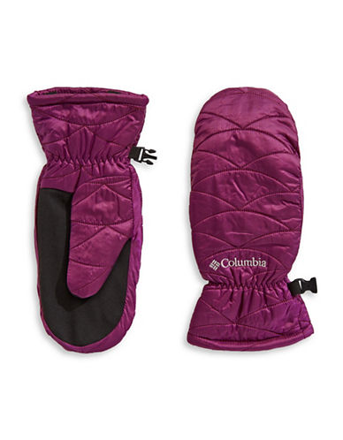 Columbia Mighty Lite Mittens-PURPLE-X-Large