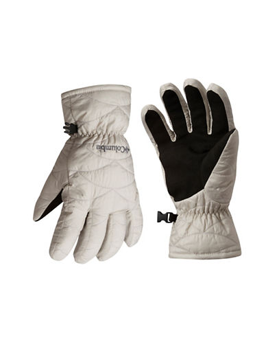 Columbia Mighty Lite Touchscreen Gloves-GREY-Medium