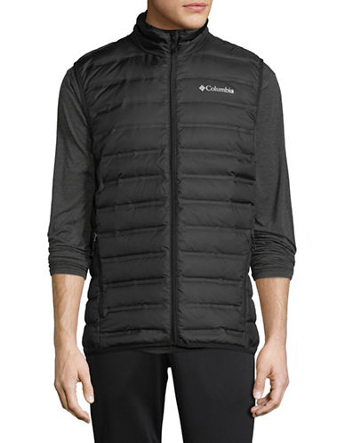 Columbia Lake 22 Down Vest-BLACK-Large