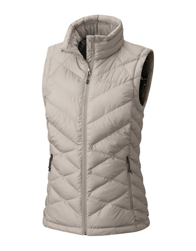 Columbia Heavenly Insulated Vest-GREY-1X