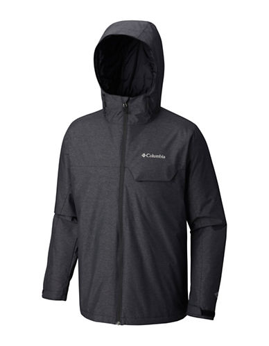 Columbia Huntsville Peak Novelty Jacket-BLACK-X-Large