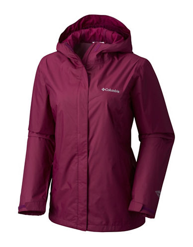 Columbia Arcadia II Jacket-PURPLE-Small