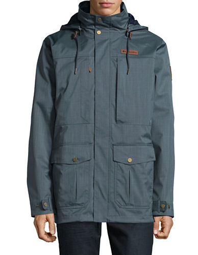 Columbia Double Layered Jacket-BLUE-Large