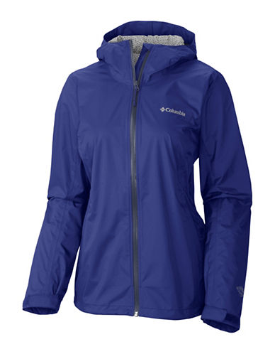 Columbia EvaPOURation Jacket-BLUE-X-Small