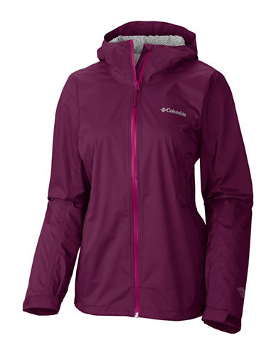 Columbia EvaPOURation Jacket-PURPLE-Large