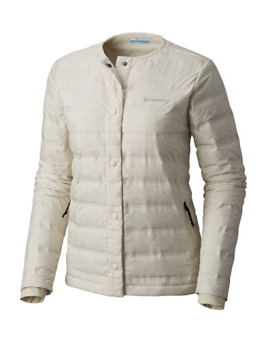Columbia Northern Comfort Jacket-WHITE-Small