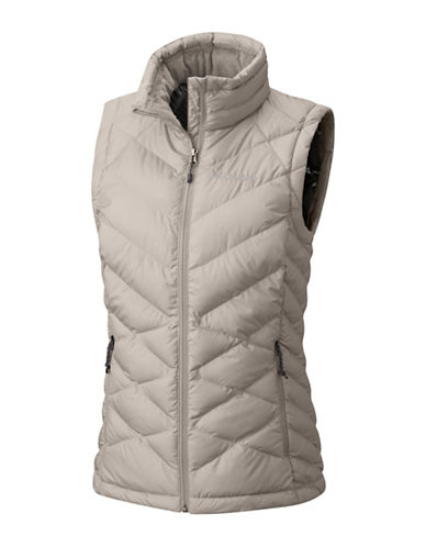 Columbia Heavenly Vest-GREY-Medium