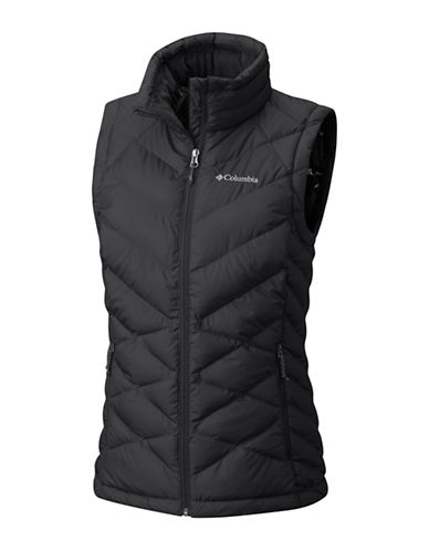 Columbia Heavenly Vest-BLACK-X-Large